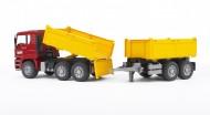 Bruder,BRUDER ,BRUDER MODELLO CAMION   Ribaltabile COD 2756 MAN TGA camion con rimorchio