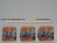 POSTINO PAT !!! OFFERTA 3 BLISTER CON 2 PERSONAGGI CIASCUNO : PC SELBY - TED GLEN , PAT -JESS , PAT - BEN  COD.03240
