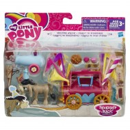 My Little Pony Fim, il carretto di benvenuto con Cranky Doodle di Hasbro B3597