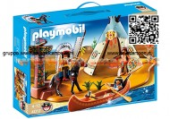 PLAYMOBIL 4012 SUPER SET ACCAMPAMENTO INDIANO 4012
