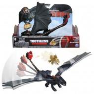 Dragons - Action Game Set - Dragon Catapulta Sdentato Toothless & Meatlug  B01B1LMG5I