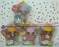 !!!! LALALOOPSY  OFFERTA SPECIALE !!!!! LALALOOPSY FRATELLINI E SORELLINE LALALOOPSY LITTLE DOLL TODDLER OFFERTA 4 PEZZI SERIE COMPLETA FORMATA DA SCRIBBLES SPALSH , TRINKET SPARKLES , PITA MIRAGE , TRICKY MYSTERIOUS COD 18428 INGROSSO
