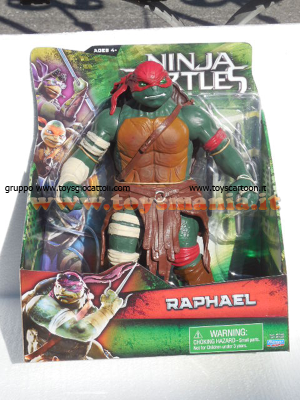 Tartarughe ninja movie raffaello 30 cm cod gpz 91555 for Prezzo tartarughe
