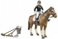 Bruder B World Cavallerizza con cavallo e accessori 62505