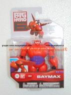 BIG HERO 6 DISNEY PERSONAGGIO BAYMAX PERSONAGGIO DETTAGLIATO CON PIU' DI 8 PUNTI DI ARTICOLAZIONE 10 CM 38600