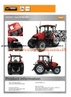 UNIVERSAL HOBBIES TRATTORE Case IH CX 100 SCALA 1/32 UH 4253