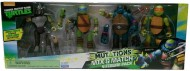Turtles confezione 4 personaggi mutanti Mix N'Match