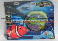 !!! GIG !!! ROBOT FISH DE LUX (1 FISH+RETE+2 CORALLI) COD NCR 02190