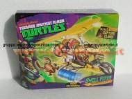 tartarughe ninja turtles ninja veicoli lanciadischi modello shell flyer della giochi preziosi originale gpz 940504