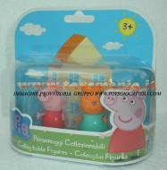 PEPPA PIG BLISTER 2 PERSONAGGI FORMATO DA PEPPA PIG E CANDY CAT , CANDY GATTO COD 04430