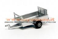 BRITAINS RIMORCHIO 1 ASSE MODELLO ATV Anhänger 1:32 Britains 42722 FUORI PRODUZIONE