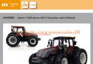 UNIVERSAL HOBBIES   ARTICOLO: UH 4080  SCALA: 1/32  TIPO: VALTRA T202 DIRECT GEMELLATO