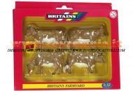 BRITAINS ACCESSORI PER MODELLISMO AGRICOLO ANIMALI SET BOVINI jersey SCALA 1/32 COD 40963
