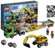 LEGO 4203 MINING Trasportatore di escavatori  LEGO City - Excavator Transporter - 4203