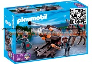 PLAYMOBIL 4868 BALESTRA MULTIPLA CON CAVALIERE KINGHT FALCONE