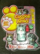 CUCCIOLI CERCA AMICI PERSONAGGIO GRIGIO YOU AND ME