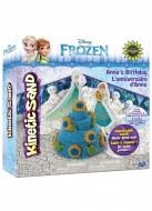 Kinetic Sand Disney Frozen Playset Anna e Elsa - sabbia modellabile - l'originale -