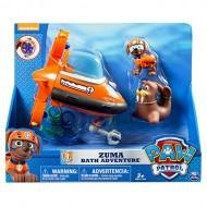 Paw Patrol Zuma  plyset da bagno 6024959 - Playset Zuma's Bath
