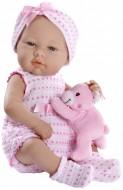 Arias Dolls  Elegance Real, Bambola con peluche 42 cm RDF65070