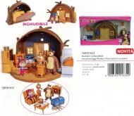 Casa di masha e orso con personaggio - Simba