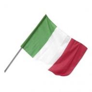 Bandiera Italiana , Bandiera Dell'Italia 60x90 con asta
