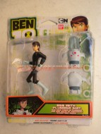 BEN TEN GIOCATTOLI PERSONAGGIO BEN WITH PLUMBER SUIT COD 37737