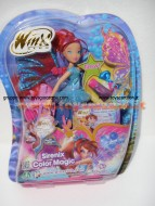 BLOOM SIRENIX CHANGING COLOUR DI GIOCHI PREZIOSI - MAGICA SIRENIX CCP13151 CON  EXTENSION DA COLORARE