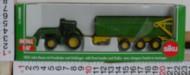 Siku trattore John Deere con rimorchio cod 1843 scala 1/87