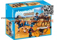 PLAYMOBIL 5249 CARROZZA E CAVALLERIA