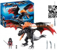 PLAYMOBIL 5482 DRAGO GIGANTE SPUTAFUOCO Dragons - Giant Battle Dragon with LED Fire - 5482