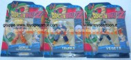 DRAGON BALL POCHISSIMI PEZZI OFFERTA 3 PEZZI VEGETA, GOKU SUPER SAIYAN, TRUNKS CCP 1621