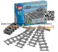 LEGO 7895 CITY® Set scambi per la ferrovia  Switch Tracks - 7895