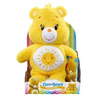 Just Play Giochi Preziosi Care Bears Orsetti del Cuore Peluche Funshine Bear Mattacchiorso con DVD