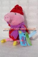 PELUCHE PEPPA PIG PERSONAGGIO PEPPA PIG DI CIRCA 33 CM