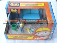 BOB AGGIUSTATUTTO !!!GIOCATTOLI PLAYSET MEDIO COMPOSTO DA IL DEPOSITO DEL CANTIERE  DI BOB toys , BRINQUEDOS ,JUGUETES , JOUETS , giocattolo COD 470630