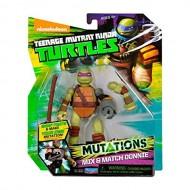 Tartarughe Ninja, Mix & Match Donatello 10 cm di Giochi Preziosi TUM03111