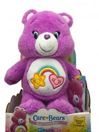 Just Play Giochi Preziosi Care Bears Orsetti del Cuore Peluche Best Friend Bear allegrorsa con DVD