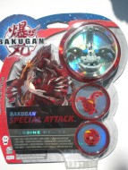 Nuovi modelli Bakugan Special Attack personaggio Turbine Elios grigio ccp11915