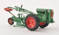 Schuco 450893100 Holder ED II with Plough verde con aratro scala 1/32
