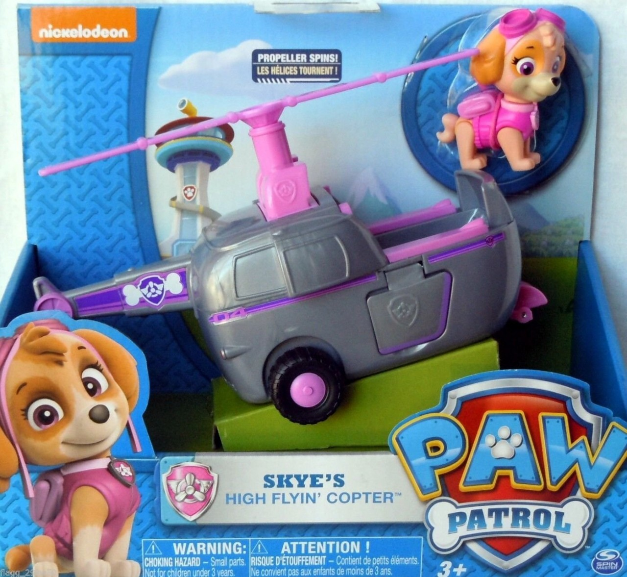 Nickelodeon Paw Patrol Skye S High Flyin Copter By Paw