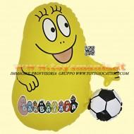 Grabo palloni gonfiabili Barbapapa giallo