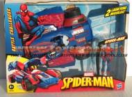 !!! HASBRO !!!! SPIDER MAN MACCHINA SPARA MISSILI E PERSONAGGIO DA 10 CM COMPRESO  HDG 93637