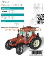 ROS-AGRITEK 30151.1 SCALA: 1/32 TRATTORE FIAT WINNER F130