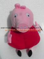 PELUCHE PEPPA PIG !! PUPAZZO PEPPA PIG ( MIS 5 )  CM 40 CIRCA !!