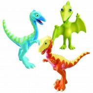 Il treno dei dinosauri - Set di 3 dinosauri da collezionare: Derek, Ollie e Mr. Pteranodon LC53053 - LC53051
