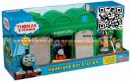 Mattel X0629 - Trenino Thomas Fisher Price La Stazione delle Chiavi di Knapford