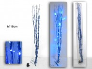 FASCINA ,RAMO DI COLOR BLUE CON LED DI COLOR BLU COD 2568