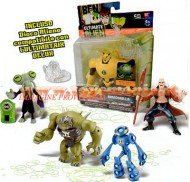 NOVITA' BEN TEN ULTIMATE ALIEN  , BEN 10 ULTINATE ALIEN OFFERTA FORMATA DA 4 PERSONAGGI BEN TEN ALIEN ULTIMATE ,OMOSAURO , ULTRA ECO ECO, AZMUTH , AGGREGOR COD 37736