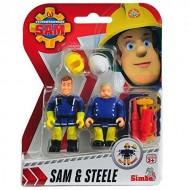 Sam il Pompiere - Fireman Sam - Sam & Steele NCR18251 di Gig