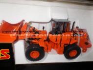 ROS Bull Dozer ruspa Fiat Hitachi w170 arancio fuori produzione pochissimi pezzi in scala 1/32 in metallo